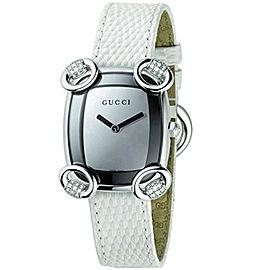 Gucci YA117506 Horsebit Diamond Stainless Steel Womens Watch