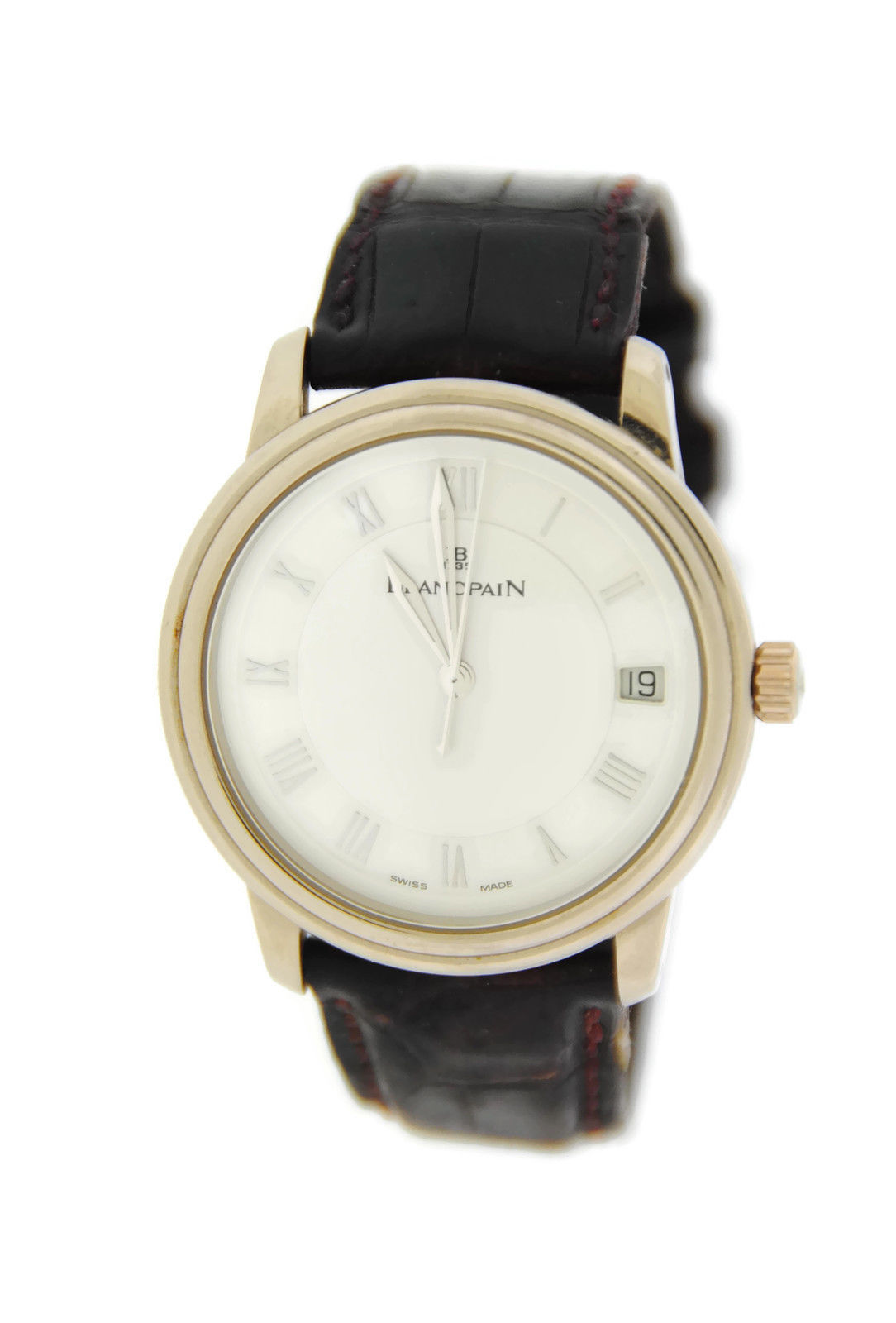 "Image of ""Blancpain Villeret Ultra Slim 1158.1527 Automatic 18K White Gold Mens"""