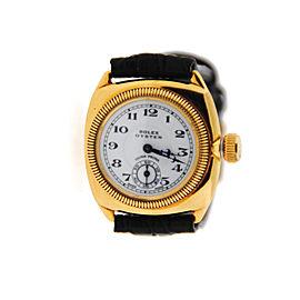 Rolex Oyster Ultra Prima Vintage 18K Yellow Gold Watch Circa 1929