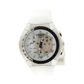 Tissot T010.417.17.111.00 T-Tracx Chronograph Stainless Steel Watch