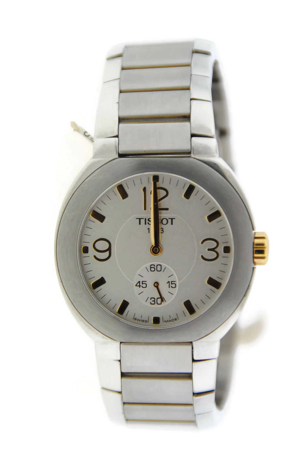 "Image of ""Tissot Two Tone Stainless Steel Watch"""