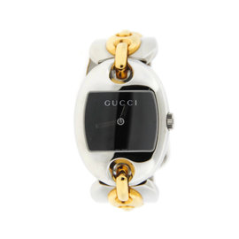 Gucci YA121305 Marina Chain Two Tone Stainless Steel Watch