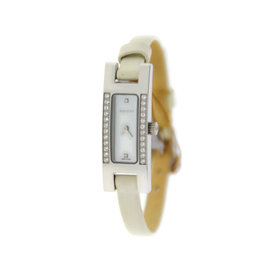 Gucci YA039513 Diamond Mother-of-Pearl Dial Stainless Steel Watch