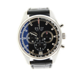 Zenith 03.2040.400 El Primero 36,000 VPH Chronograph Stainless Steel Watch