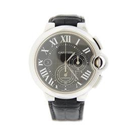 Cartier Ballon Bleu W6920079 Chronograph Stainless Steel Watch