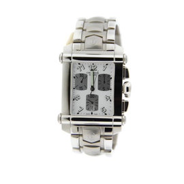 Charriol Columbus 060CXL-0 Chronograph Stainless Steel Mens Watch
