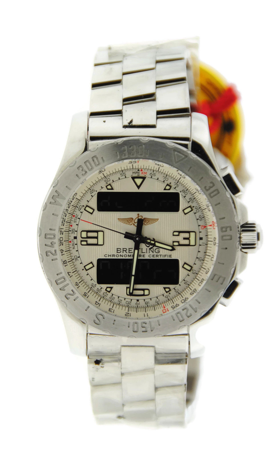 "Image of ""Breitling A7836334/g653 Airwolf Stainless Steel Mens Watch"""