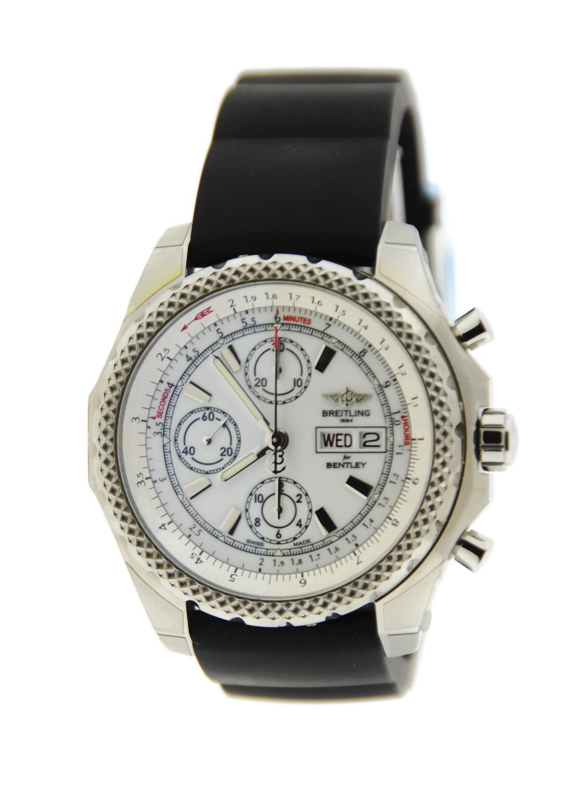 "Image of ""Breitling A1336512/a736 Bentley GT II Chronograph Stainless Steel Mens"""