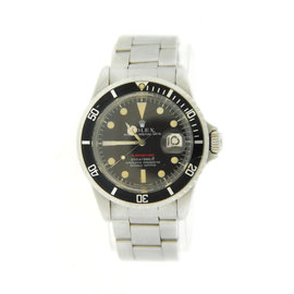 Rolex Submariner 680 Tropical Dial Stainless Steel Mens Watch
