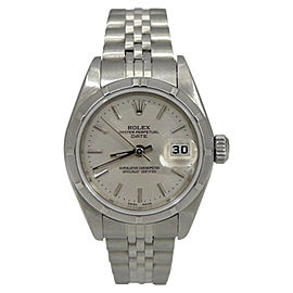Rolex Oyster Perpetual 79190 Date Stainless Steel Jubilee Band 26mm Watch