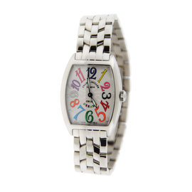 Franck Muller 7502 QZ Color Of Dreams Stainless Steel 29X39mm Womens Watch
