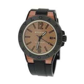 Bulgari Diagono DG41SMC Magnesium & Silicone/Rubber Automatic 41mm Mens Watch