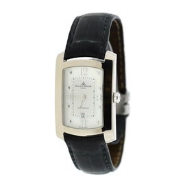 Baume & Mercier Hampton Automatic 18K White Gold & Leather 26mm Unisex Watch