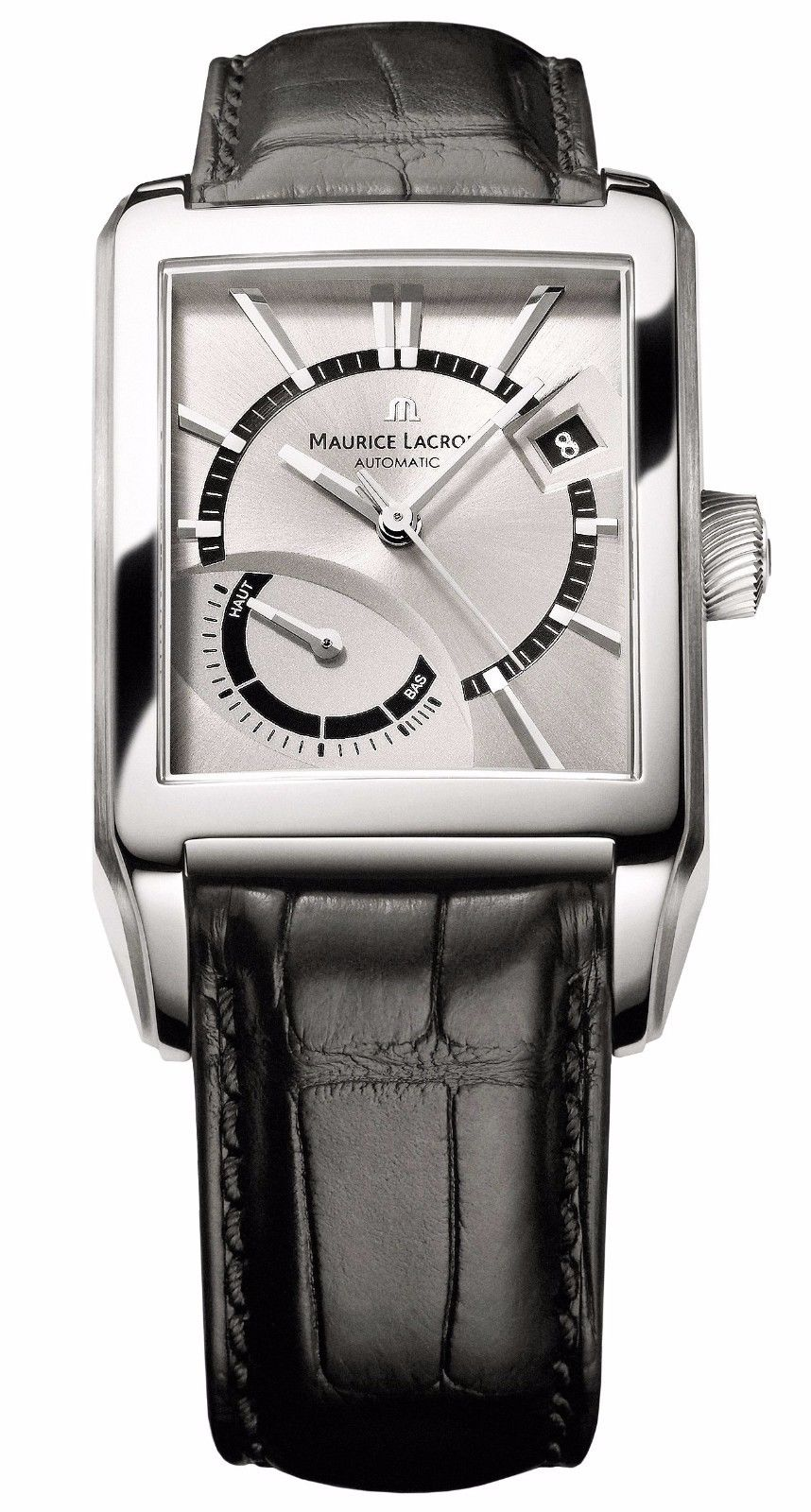"Image of ""Maurice Lacroix De Marche Pt6207-Ss001-130 Stainless Steel 39.5mm Mens"""