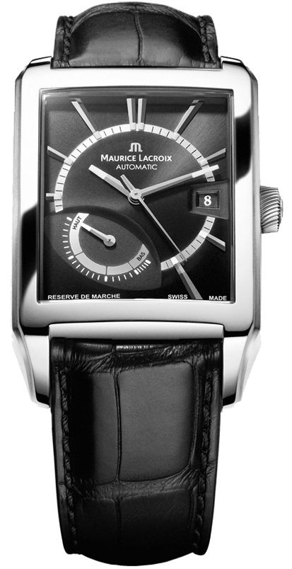 "Image of ""Maurice Lacroix De Marche Pt6207-Ss001-330 Stainless Steel 39.5mm Mens"""