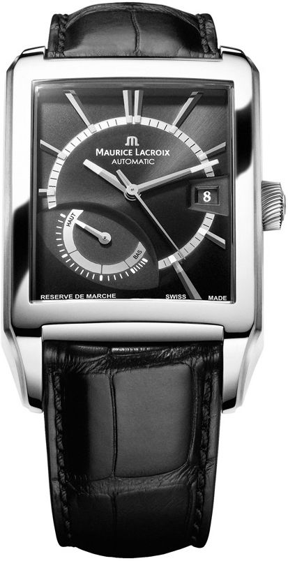 "Image of ""Maurice Lacroix De Marche Pt6217-Ss001-330 Stainless Steel 35.5mm Mens"""