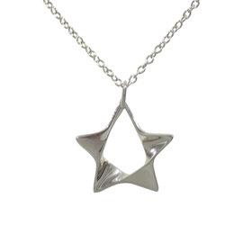 Georg Jensen Sterling Silver Pendant Necklace