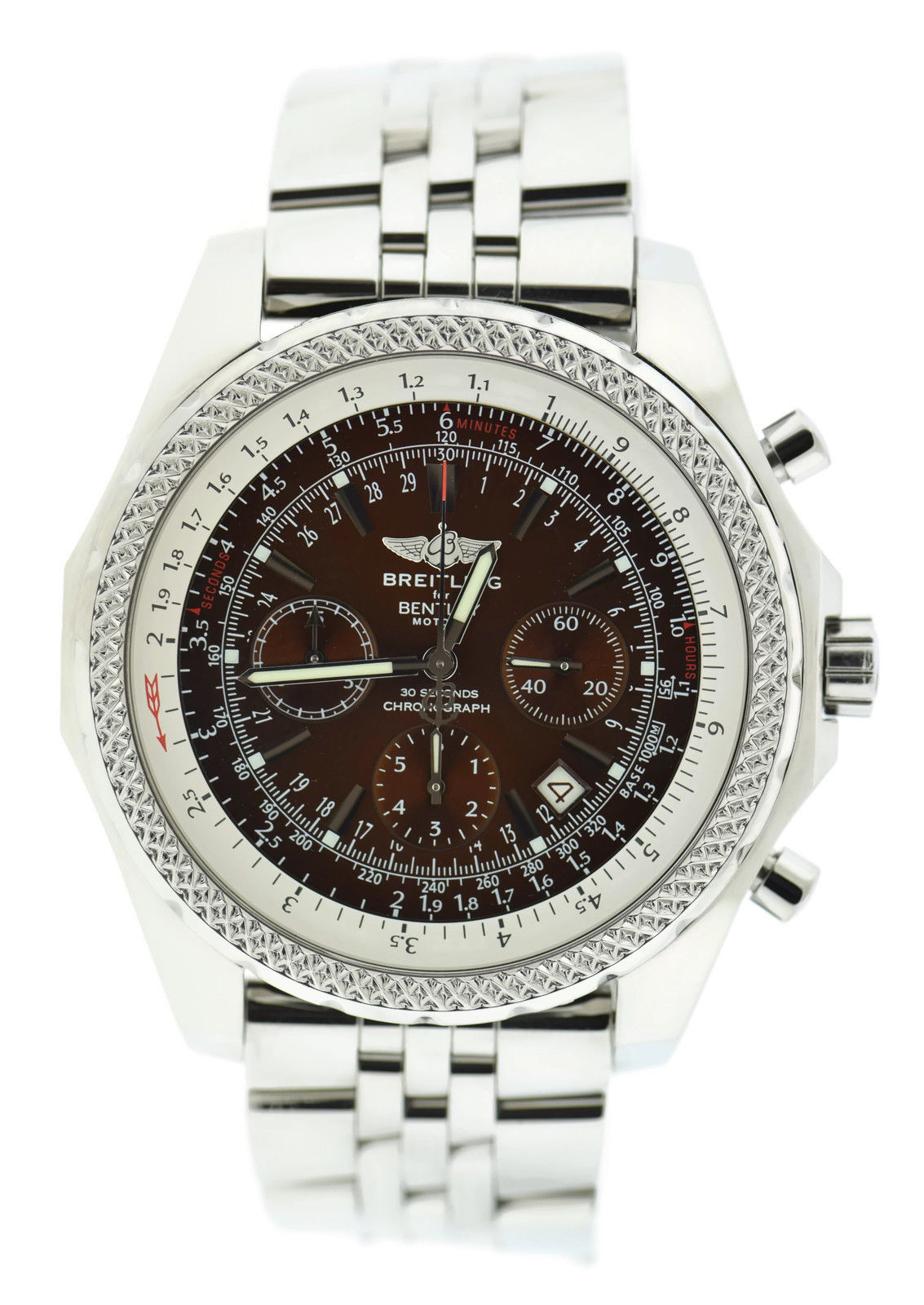 """Image of """"Breitling Bentley Motors A25362 Stainless Steel Automatic 48mm Mens"""""""