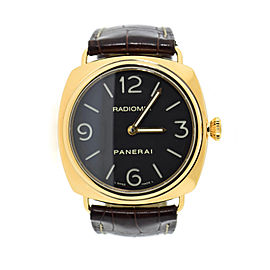 Panerai Radiomir PAM321 18K Rose Gold & Leather Manual 45mm Mens Watch