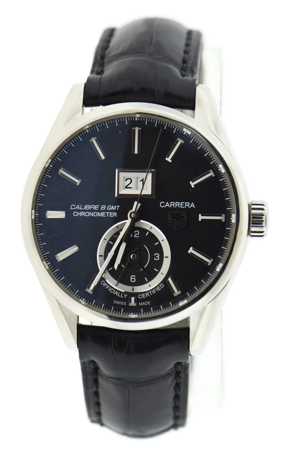 """Image of """"Tag Heuer Carrera Calibre War5010 Stainless Steel 41mm Mens Watch"""""""