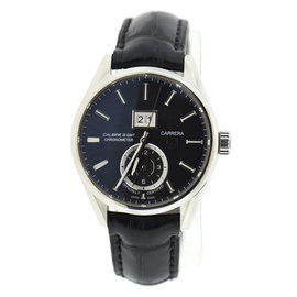 Tag Heuer Carrera Calibre WAR5010 Stainless Steel 41mm Mens Watch