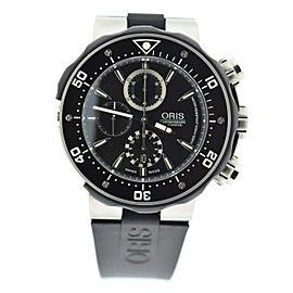 Oris Prodiver 7630 Titanium & Rubber Automatic 47mm Mens Watch