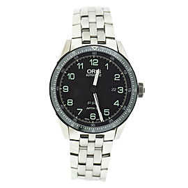 Oris Artix Day Date Calobra 7706 Stainless Steel Automatic 44mm Mens Watch