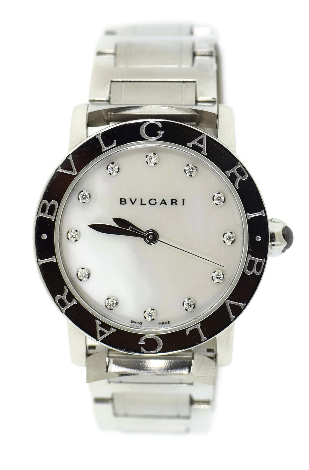 """Image of """"Bulgari BBL 33 S Stainless Steel 33mm Womens Watch"""""""