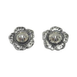 George Jensen 925 Sterling Silver Clip Earrings