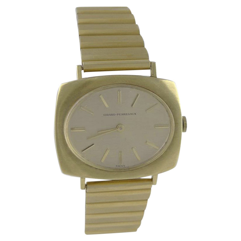 "Image of ""Girard Perregaux Stainless Steel & 18K Yellow Gold 36mm Mens Watch"""