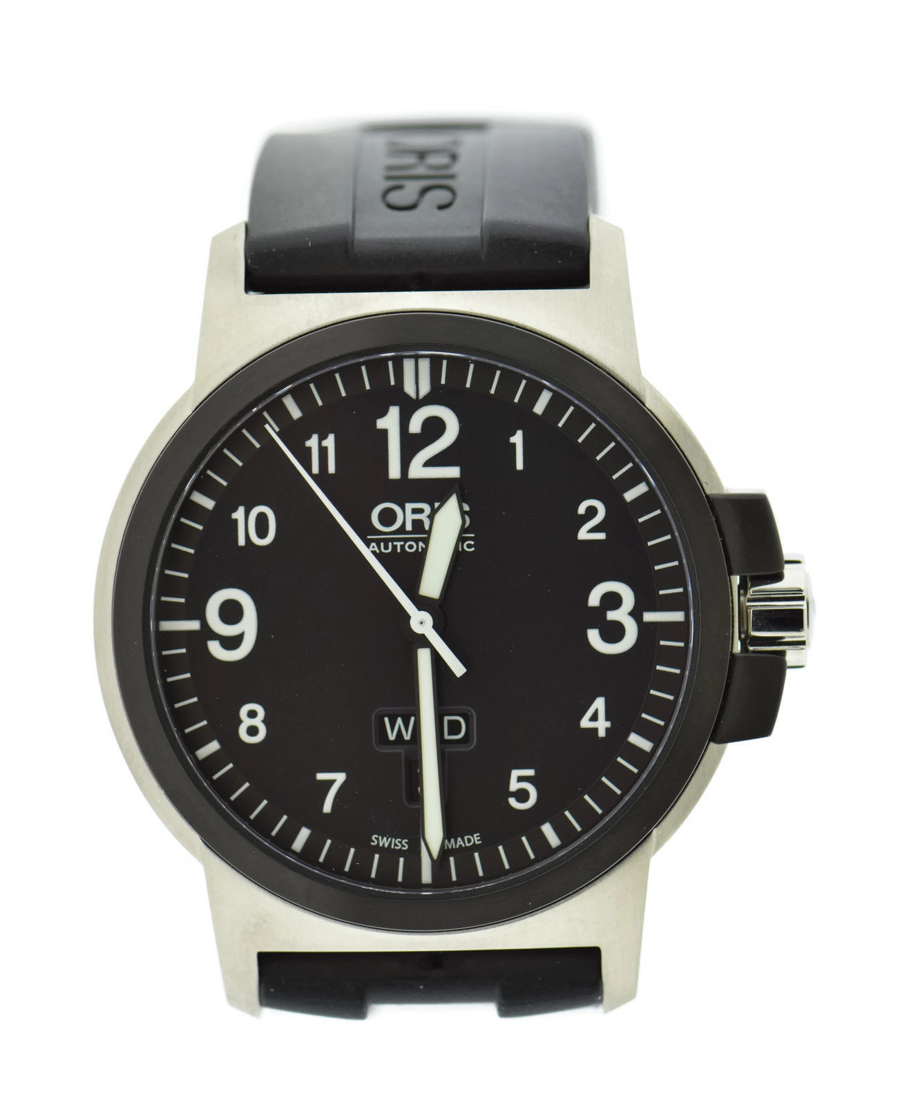 """Image of """"Oris Day Date 7641 Automatic Stainless Steel 42mm Mens Watch"""""""