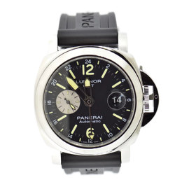 Panerai Luminor GMT PAM1088 Stainless Steel & Rubber Automatic 44mm Mens Watch