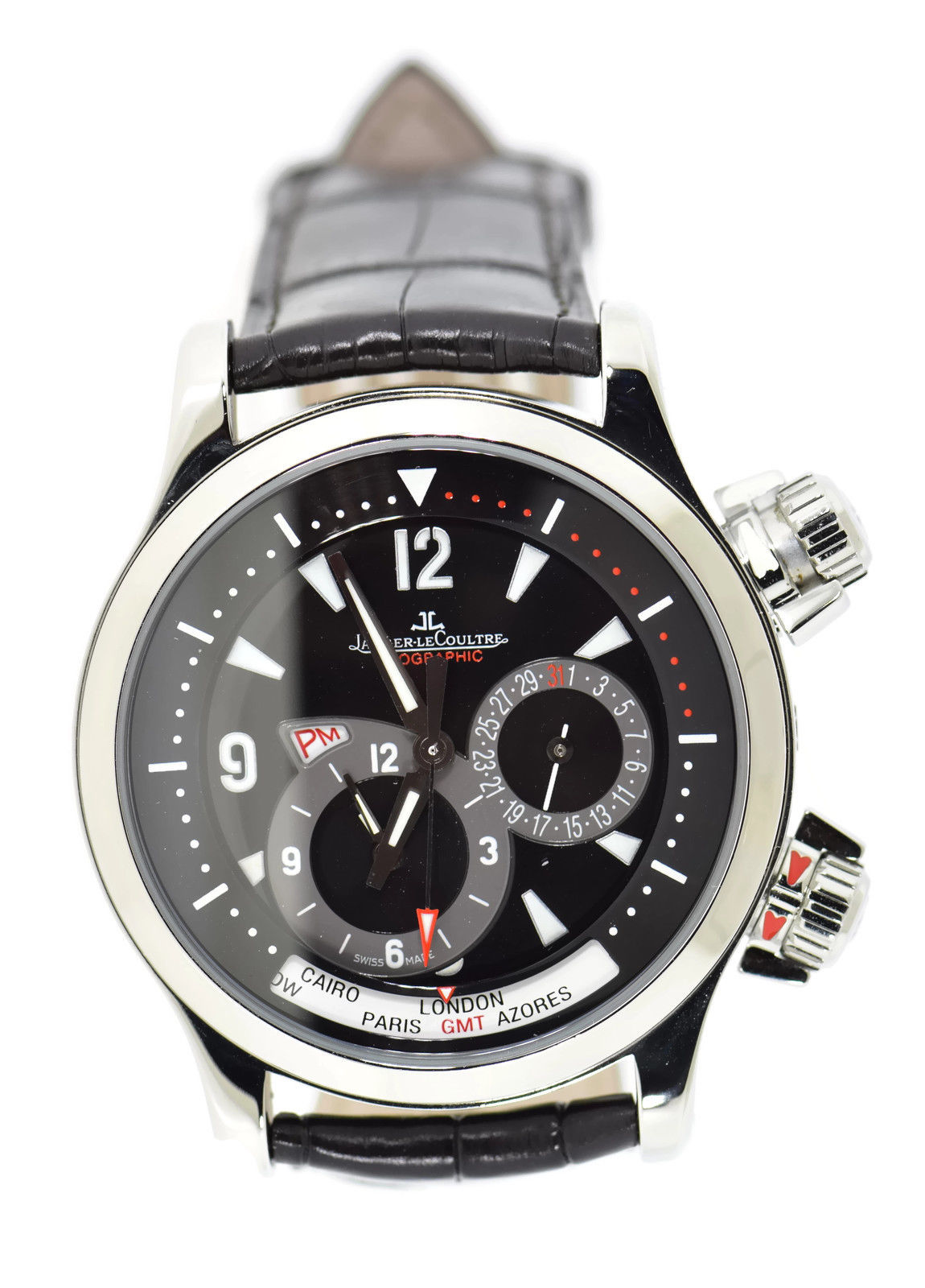 """Image of """"Jaeger LeCoultre Master Compressor 146.8.83/1 Stainless Steel &"""""""