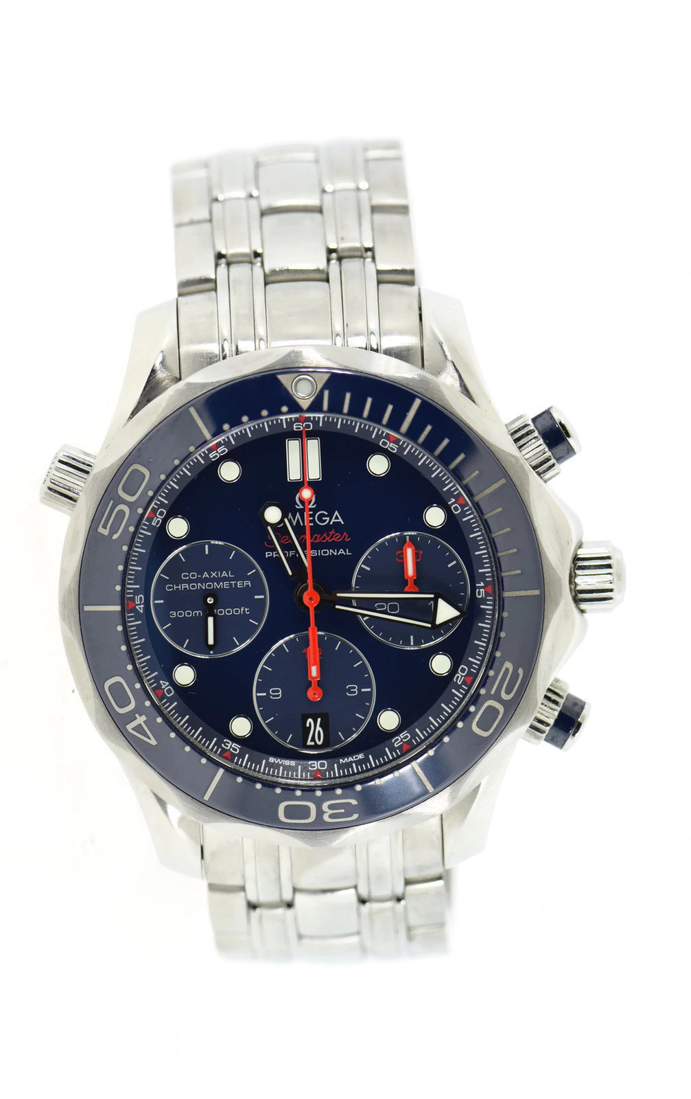 "Image of ""Omega Seamaster 212.30.42.50.03.001 Stainless Steel Blue Dial"""