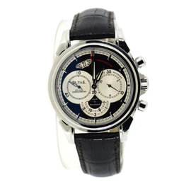 Omega DeVille Chronoscope 4850.50.31 Stainless Steel 41mm Mens Watch