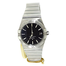 Omega Constellation 123.10.38.21.01.001 Stainless Steel 38mm Mens Watch