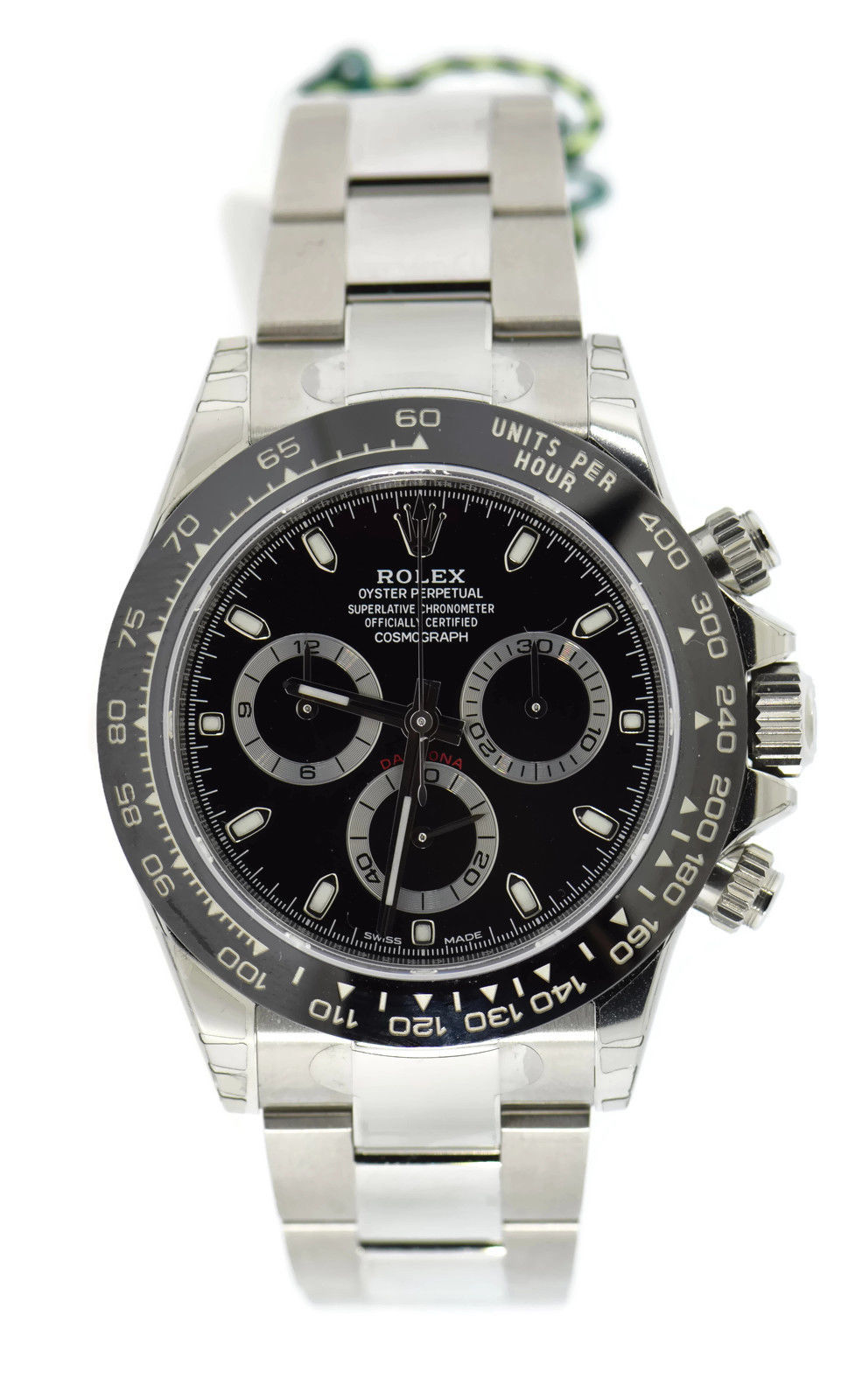 "Image of ""Rolex Daytona 116500Ln Stainless Steel & Ceramic Black Dial Automatic"""