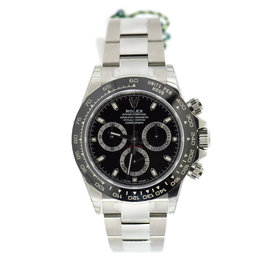 Rolex Daytona 116500LN Stainless Steel & Ceramic Black Dial Automatic 40mm Mens Watch
