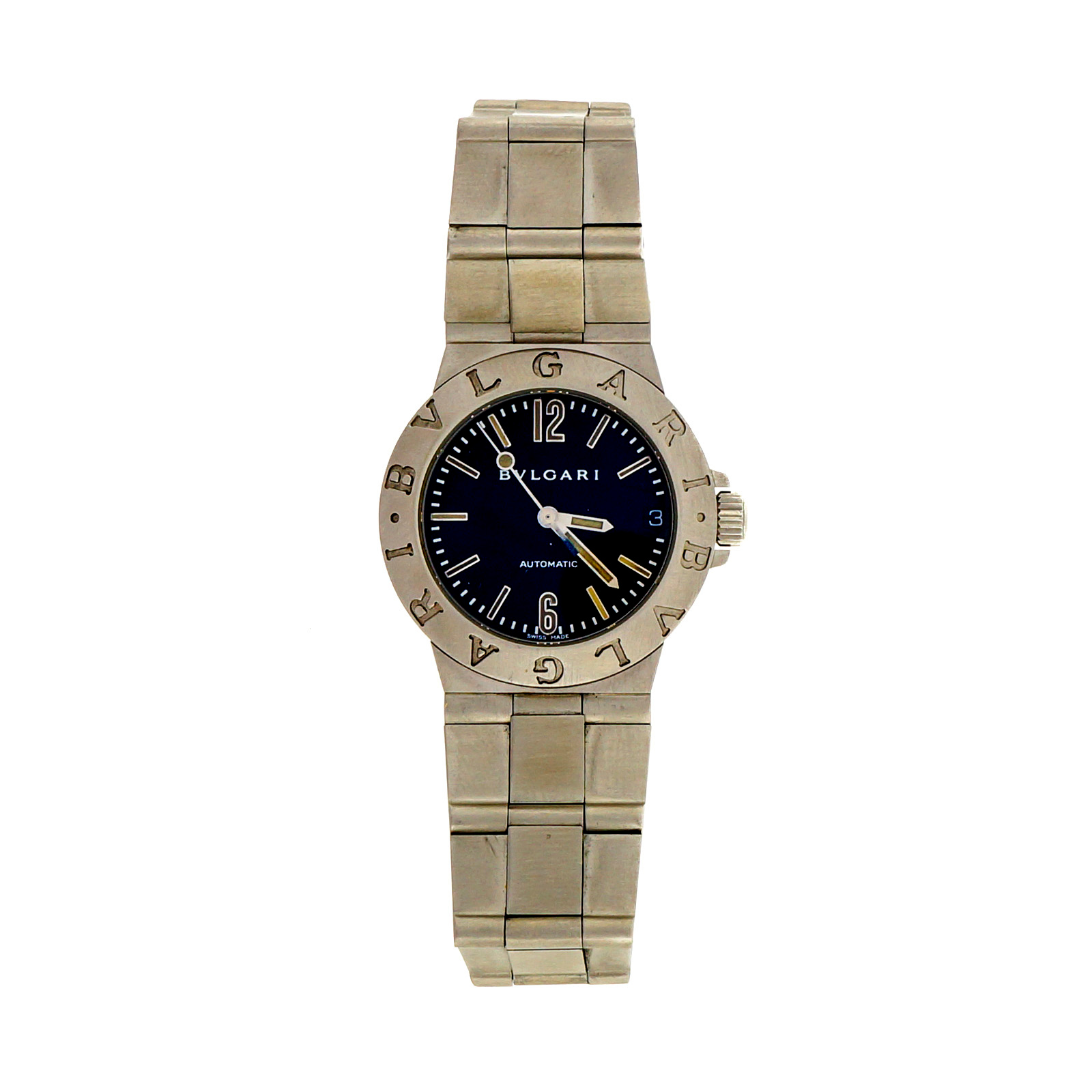 """Image of """"Bvlgari Stainless Steel Automatic 29.5mm Unisex Watch"""""""