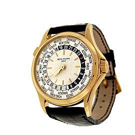 Patek Philippe World Time 5110J Self Wind 18K Yellow Gold 240/188 36mm Mens Wrist Watch