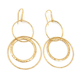 Tiffany & Co. Picasso 18K Yellow Gold Earrings