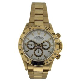 Rolex Daytona Zenith 18K Yellow Gold 40mm Mens Watch