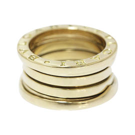 Bulgari B.zero1 18K Yellow Gold Ring Size 4