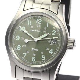 Hamilton Khaki Stainless Steel Quartz 33mm Watch