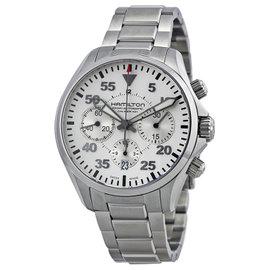 Hamilton Khaki Pilot H64666155 Stainless Steel 42mm Watch