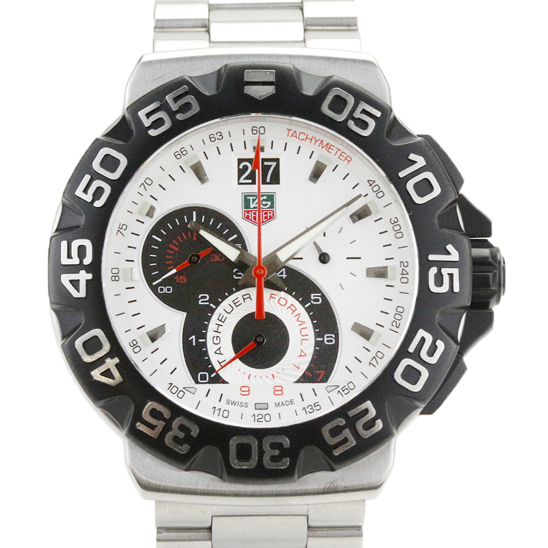 """Image of """"Tag Heuer Formula 1 Cah1011 Chronograph Stainless Steel Quartz 44mm"""""""