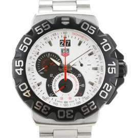 Tag Heuer Formula 1 CAH1011 Chronograph Stainless Steel Quartz 44mm Mens Watch