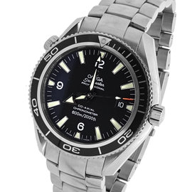 Omega Seamaster Planet Ocean Stainless Steel with Black Dial 42mm Mens Watch