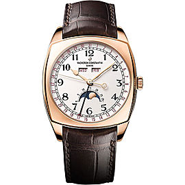 Vacheron Constantin Harmony 4000S/000R-B123 18K Rose Gold with Silver Dial 40mm Mens Watch