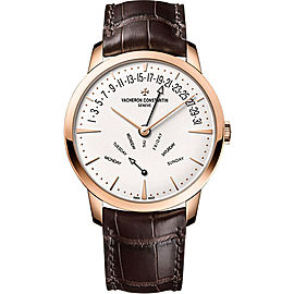 Vacheron Constantin Patrimony 4000U/000R-B110 18K Rose Gold & Leather with Automatic 42.50mm Mens Watch